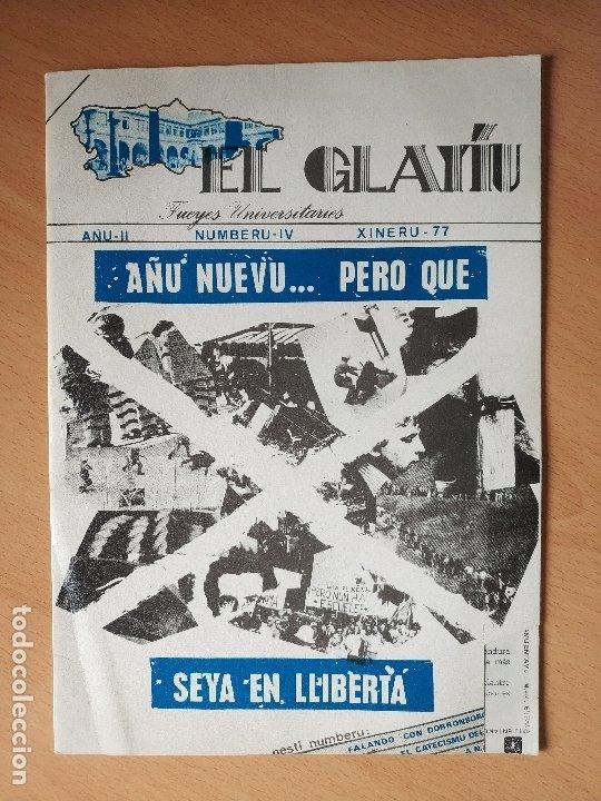 REVISTA EL GLAYIU FUEYES UNIVERSITARIES ASTURIANU ASTURIANO XINERU 1977 ASTURIAS (Libros Nuevos - Idiomas - Otras lenguas locales)