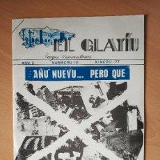 Otras Lenguas Locales: REVISTA EL GLAYIU FUEYES UNIVERSITARIES ASTURIANU ASTURIANO XINERU 1977 ASTURIAS. Lote 181580680