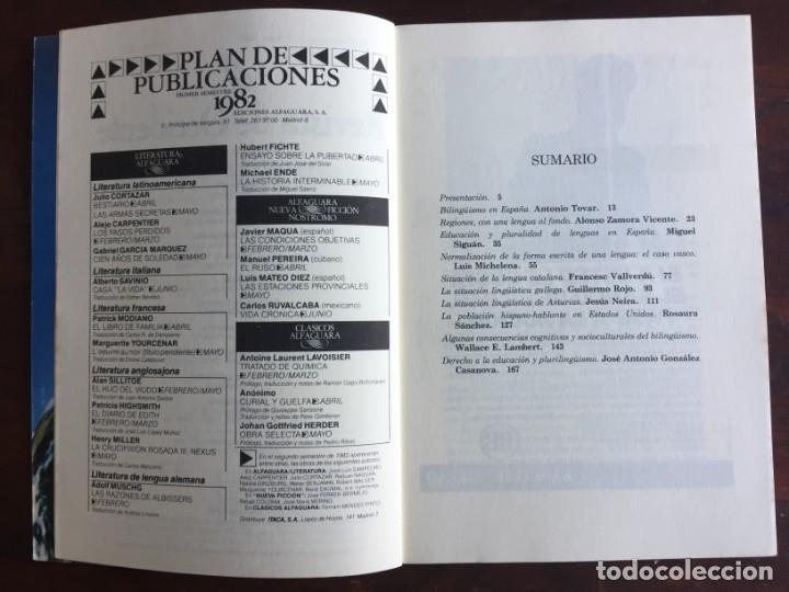 Otras Lenguas Locales: Revista de Occidente. El bilingüismo Problema y Realidad. Desarrollo del bilingüismo en España - Foto 3 - 182226275