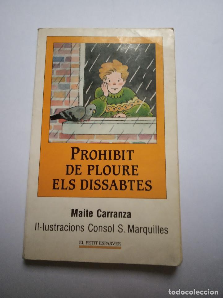 LIBRO PROHIBIT DE PLOUREB ELS DISSABTES MAITE CARRANZA (Libros Nuevos - Idiomas - Otras lenguas locales)