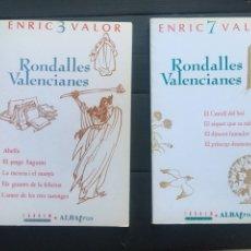 Otras Lenguas Locales: RONDALLES VALENCIANES. ENRIC VALOR. Lote 293418203