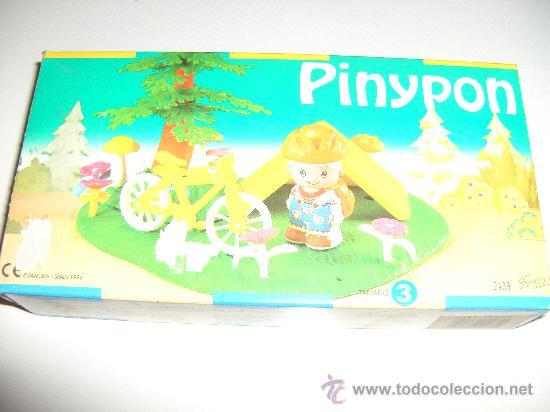 PINYPON CAJA PINYPON NUEVA A ESTRENAR (Juguetes - Muñeca Española Moderna - Otras Muñecas de Famosa)