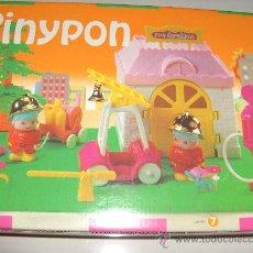 Otras Muñecas de Famosa: PINYPON CAJA PINYPON PARQUE DE BOMBEROS NUEVA A ESTRENAR. Lote 14825449