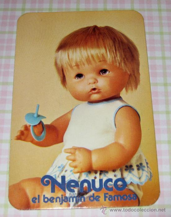 CURIOSISIMA Y MONISIMA TARJETITA DE IDENTIDAD DE NENUCO EL BENJAMIN DE FAMOSA - SE TRATA DE UN DNI (Juguetes - Muñeca Española Moderna - Otras Muñecas de Famosa)