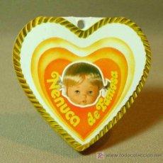 Otras Muñecas de Famosa: ETIQUETA DE NENUCA CORAZON, DE FAMOSA, 1970S. Lote 18246684