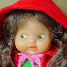 Otras Muñecas de Famosa: MARAVILLOSA BARRIGUITAS, CAPERUCITA ROJA, ORIGINAL FAMOSACON ROPA ORIGINAL. Lote 16235915
