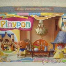 Otras Muñecas de Famosa: PINYPON,LA BELLA Y LA BESTIA,AÑO 2002,CAJA ORIGINAL,A ESTRENAR. Lote 26516215
