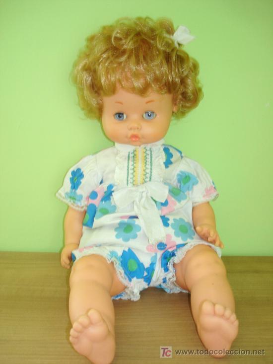 Otras Muñecas de Famosa: ENORME MUÑECO MOFLETES DE FAMOSA, 59 CMS, AÑOS 70 - Foto 2 - 27126501
