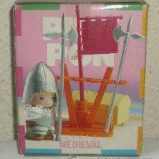 Otras Muñecas de Famosa: PINYPON SERIE MEDIEVAL,CAJA ORIGINAL,A ESTRENAR. Lote 22239319