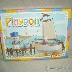 Otras Muñecas de Famosa: PINYPON,PESCADOR Y GRUMETE,FAMOSA,CAJA ORIGINAL,2003,A ESTRENAR. Lote 22639513