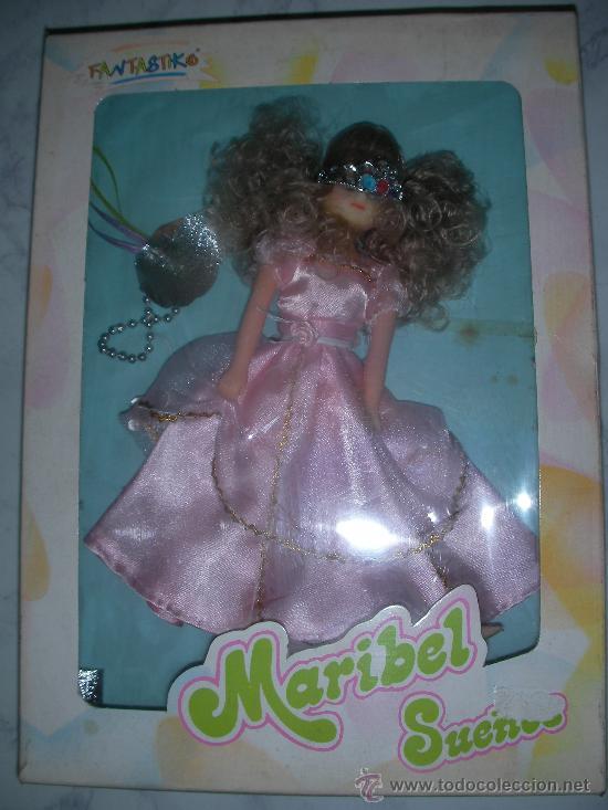 ANTIGUA CAJA CON MUÑECA MARIBEL SUEÑOS DE FANTASTIKO SIMILAR A CHABEL NUEVA DE TIENDA (Juguetes - Muñeca Española Moderna - Otras Muñecas de Famosa)