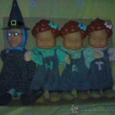 Otras Muñecas de Famosa: LOTE DE MARIONETAS O GUIÑOL DE FAMOSA LAS TRES MELLIZAS. Lote 28233187