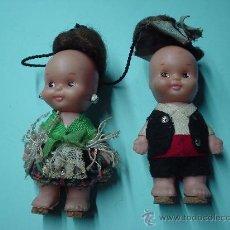 Otras Muñecas de Famosa: LOTE DE DOS MUÑECAS TIN TAN DE FAMOSA TEMATIZAS CON VESTIDOS REGIONALES. MUÑECA. Lote 30102726