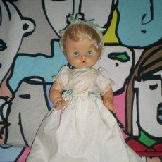 Otras Muñecas de Famosa: MUÑECO DUNIA PAÑAL COMPLETO DE ORIGEN EN AÑOS 70 IRIS MARGARITA LILACEO. Lote 34740753