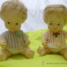Otras Muñecas de Famosa: ANTIGUA PRECIOSA PAREJADE GEMELOS DE BARRIGUITAS DE FAMOSA.. Lote 80657555