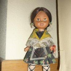 Otras Muñecas de Famosa: PRECIOSA MUÑECA MARILOLI ? DE FAMOSA CON TRAJE REGIONAL JOTA Y OJOS DURMIENTES AÑOS 70. Lote 37105765
