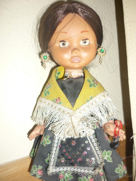 Otras Muñecas de Famosa: PRECIOSA MUÑECA MARILOLI ? DE FAMOSA CON TRAJE REGIONAL JOTA Y OJOS DURMIENTES AÑOS 70 - Foto 4 - 37105765