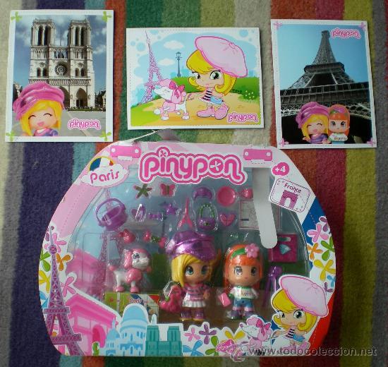 Otras Muñecas de Famosa: Pinypon viajes París - Foto 2 - 141134274