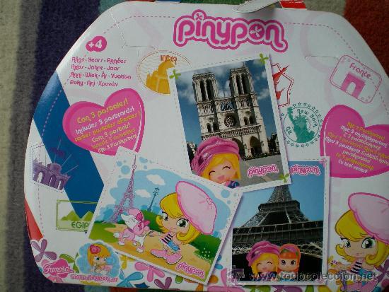 Otras Muñecas de Famosa: Pinypon viajes París - Foto 4 - 141134274