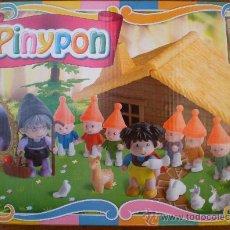 Otras Muñecas de Famosa: CAJA PINYPON PIN Y PON FAMOSA CUENTOS BLANCANIEVES Y LOS 7 ENANITOS. Lote 39126204