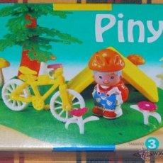 Otras Muñecas de Famosa: PIN Y PON PINYPON DE FAMOSA CICLISTA EN EL CAMPING. Lote 175602389