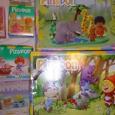 Otras Muñecas de Famosa: LOTE DE 6 CAJAS PINYPON PIN Y PON DE FAMOSA. Lote 40482927
