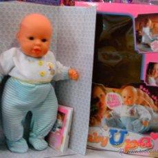 Otras Muñecas de Famosa: MUÑECO BABY UPA (46 CM).FAMOSA AÑO 2001.NUEVO EN CAJA.FUNCIONA.. Lote 53422443