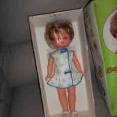 Otras Muñecas de Famosa: PRECIOSA MUÑECA FAMOSA COMPLETA DE ORIGEN CAJA JUGUETERIA AÑOS 60 40 CM BEGOÑA PERFECTA CON LLORON. Lote 122994536