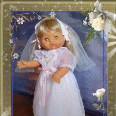 Otras Muñecas de Famosa: MARÍA DE COMUNIÓN HABLADORA Y FUNCIONANDO. Lote 133991081