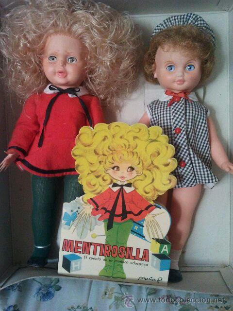 MUÑECA MENTIROSILLA DE FAMOSA NUEVA EN CAJA CON CUENTO MARÍA PASCUAL (Juguetes - Muñeca Española Moderna - Otras Muñecas de Famosa)