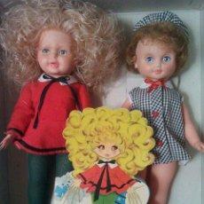 Otras Muñecas de Famosa: MUÑECA MENTIROSILLA DE FAMOSA NUEVA EN CAJA CON CUENTO MARÍA PASCUAL. Lote 58571273