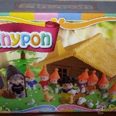 Otras Muñecas de Famosa: PIN Y PON BLANCANIEVES Y LOS 7 ENANITOS COMPLETO. Lote 52161046