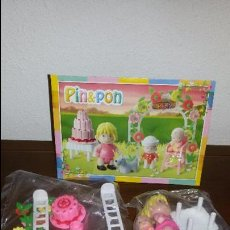 Otras Muñecas de Famosa: PIN Y PON CUMPLEAÑOS COMPLETO SIN CAJA. Lote 52162145