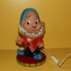Otras Muñecas de Famosa: ANTIGUA LAMPARA DE FAMOSA ENANITO MARCA FERRARIO - AÑOS 70 - FUNCIONA. Lote 52337292