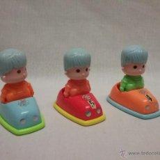 Otras Muñecas de Famosa: PIN Y PON - LOTE DE COCHES DE CHOQUE DE PIN Y PON FAMOSA . Lote 52922771