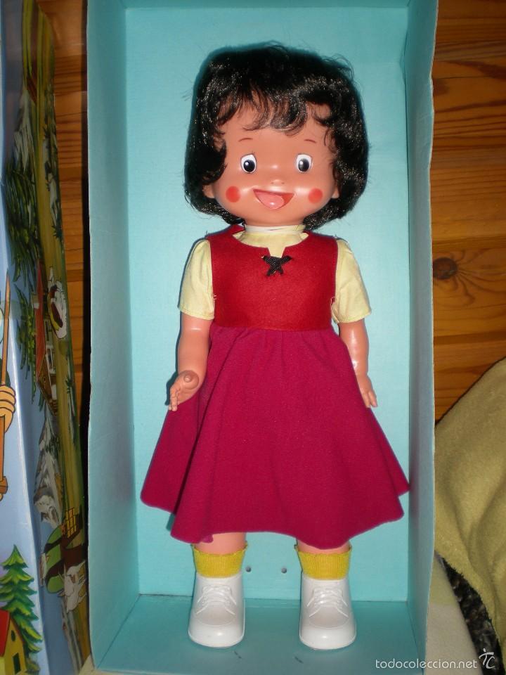 Otras Muñecas de Famosa: rareza heidi andadora grande de famosa nueva de jugueteria años 70 mide 47 cm dificilisima!!!.... - Foto 4 - 55364041