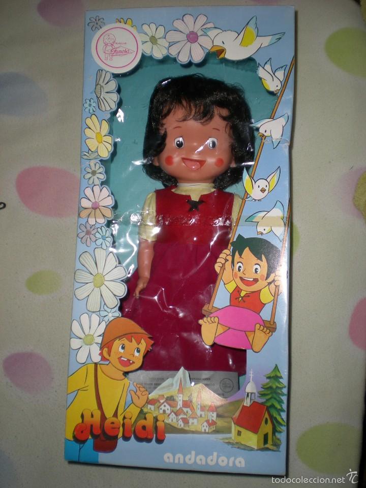 Otras Muñecas de Famosa: rareza heidi andadora grande de famosa nueva de jugueteria años 70 mide 47 cm dificilisima!!!.... - Foto 6 - 55364041