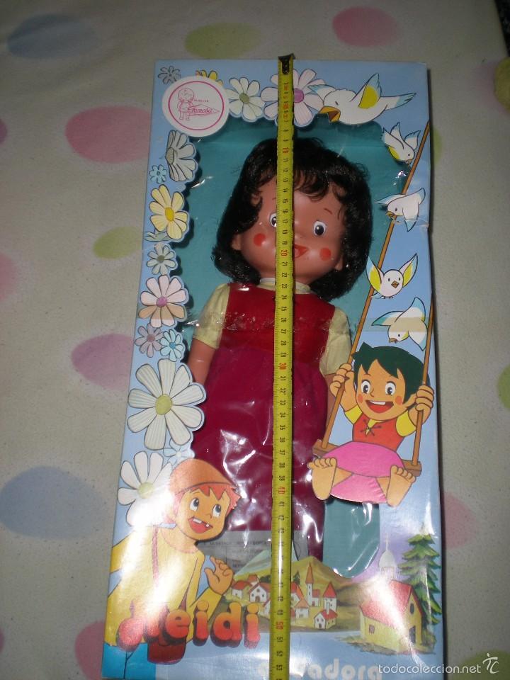 Otras Muñecas de Famosa: rareza heidi andadora grande de famosa nueva de jugueteria años 70 mide 47 cm dificilisima!!!.... - Foto 11 - 55364041