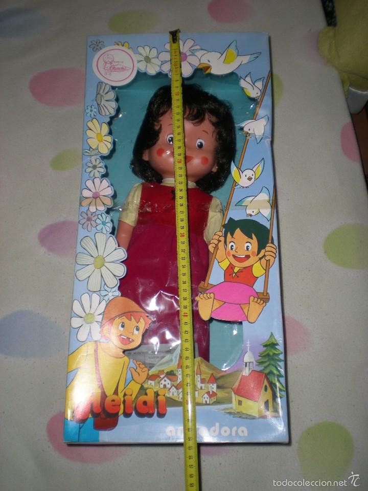 Otras Muñecas de Famosa: rareza heidi andadora grande de famosa nueva de jugueteria años 70 mide 47 cm dificilisima!!!.... - Foto 12 - 55364041