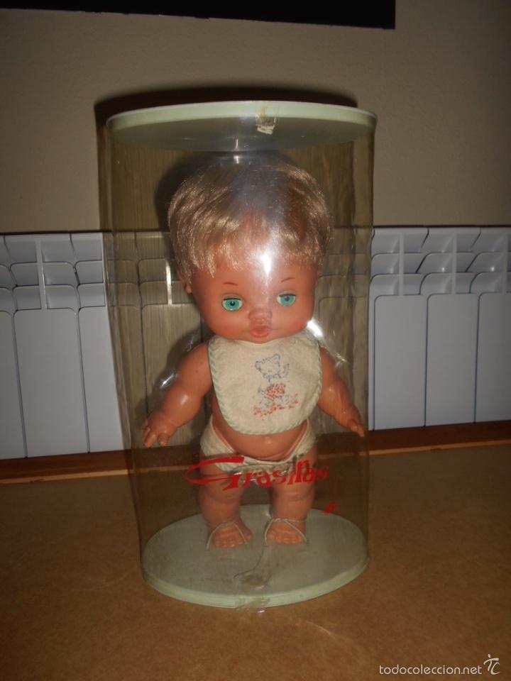 MUÑECA GRASITAS DE FAMOSA EN SU CAJA ORIGINAL AÑOS 60 (DEL AÑO 1966) B.E (Juguetes - Muñeca Española Moderna - Otras Muñecas de Famosa)