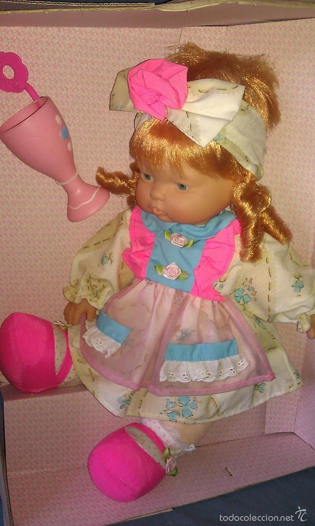 Otras Muñecas de Famosa: PRECIOSA MUÑECA NENUCA BURBUJAS DE FAMOSA NUEVA EN SU CAJA ORIGINAL SIN ESTRENAR - MUÑECAS FAMOSA - - Foto 4 - 57332555