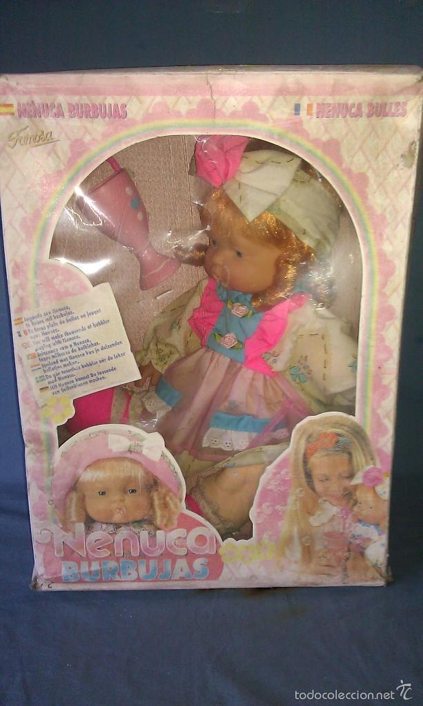 Otras Muñecas de Famosa: PRECIOSA MUÑECA NENUCA BURBUJAS DE FAMOSA NUEVA EN SU CAJA ORIGINAL SIN ESTRENAR - MUÑECAS FAMOSA - - Foto 8 - 57332555