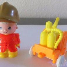 Otras Muñecas de Famosa: BOMBERO REF. 2204 PIN Y PON PINYPON PARQUE PARK. Lote 58418789