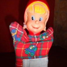 Otras Muñecas de Famosa: FAMOSA - ANTIGUA MARIONETA CAPERUCITA ROJA FAMOSA CON ETIQUETA Nº 1 VER FOTOS!! SBB. Lote 64618627