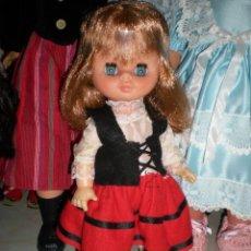 Otras Muñecas de Famosa: PRECIOSA PITUSA PELIRROJA DE FAMOSA AÑOS 70 MUY BUEN ESTADO COMPLETA DE ORIGEN. Lote 65016771