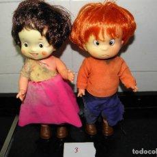 Otras Muñecas de Famosa: PEDRO Y HEIDI DE FAMOSA. Lote 66257450