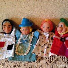 Otras Muñecas de Famosa: LOTE DE MARIONETAS DE FAMOSA , CUENTO BLANCA NIEVES,. Lote 66280234