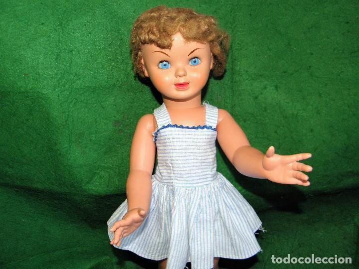 Otras Muñecas de Famosa: MUÑECA OJOS AZULES MARCADA FAMOSA PRINCIPIOS AÑOS 60 - Foto 2 - 72783095
