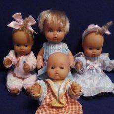 Otras Muñecas de Famosa: 4 MINI NENUCOS DE FAMOSA. Lote 73548099