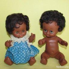 Otras Muñecas de Famosa: CURRIN FAMOSA - NEGRITOS DE LOS PRIMEROS. Lote 76587855